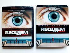Requiem For A Dream Director's Cut: 4K, Blu Ray, Digital w/ Slipcover New Mint