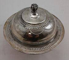 Rosh Hashanah Honey Dish Pot Jar Judaica - Sterling Silver 925 weight: 106 gram