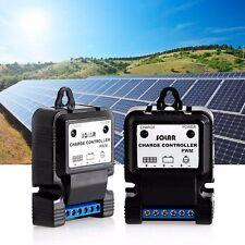 Solar Panel Charger Controller Regulator Park Street Garden Light Plastic 12V 3A