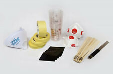 Spray Paint Consumables Kit - Paint mixing cups, masking tape, strainers Burisch