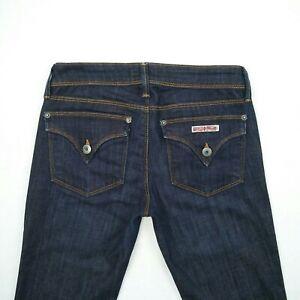 Hudson Blue Slim Straight Leg Low Rise Stretch Denim Jeans Women's Size US2 W28