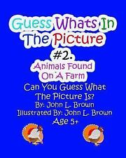 Guess Whats in the Picture: Guess Whats in the Picture : Animals Found on a...