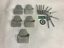 Bearmach Land Rover Series 2, 2a 3, Defender 90 Canvas Roof Hood Cleat Hooks x5