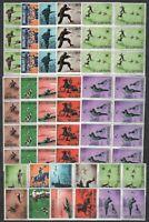 DEALER STOCK SAN MARINO MNH 1962 Modern Hunting 10v 10 SETS s32704