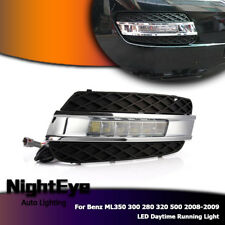 LED Head Lamp DRL Daytime Running Light Fit Benz ML350 ML300 ML280 ML320 ML500