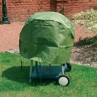 New Durable Waterproof Outdoor Green Garden Patio Kettle Bbq Barbecue Cover