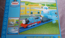 TOMY PLARAIL TRACK MASTER THOMAS TRAIN SODOR AIRPORT NEW ITEM FOR COLLECTORS