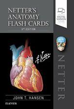 Netter's Anatomy Flash Cards, 5e (Netter Basic Science), Hansen 9780323530507.=