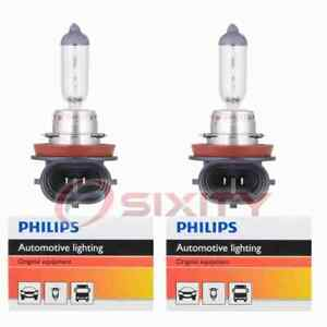 2 pc Philips H8C1 Fog Light Bulbs for Electrical Lighting Body Exterior  wq