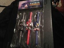 Sega Sonic Chronicles of Dark Brotherhood Stylus Figure Set Unopened