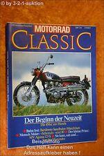 Motorrad Classic 6/90 Honda MV Agusta 125S NSU 251 OSL