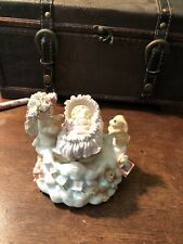Dreamsicles Sleep Tight Rock A Bye Baby Music Box Motion Cast Art Angel Figurine