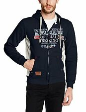 Geographical Norway Gafont MEN, Felpa Uomo, Blu (Navy), Small (P2P)