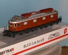 Hobbytrain H10183, Spur N, E-Lok BLS Ae 6/8 # 203, braun, Hobbytrain 10183