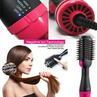 Hair Straightener Brush, Hot Air Dryer Brush🙂 One Step Hair Dryer & Volumizer