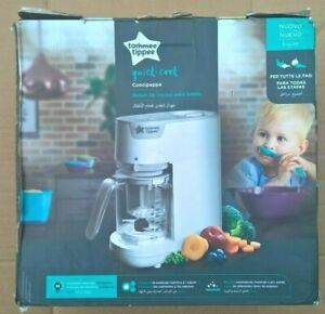 Tommee Tippee Quick-Cook Baby Food Maker, White