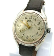 Vintage Soviet Watch URAL Big Face Rare Molnija USSR Mechanical SERVICED 1950s