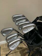 Ping i200 Irons R/H Project x 6.0 Blue Dot 4-PW Good Condition.