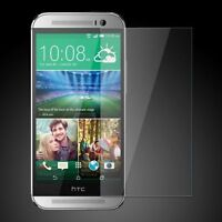 Premium Real Tempered Glass Film Cover Guard Screen Protector For HTC One M7 New