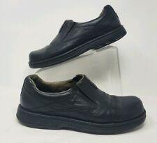 Merrell Men's Shoes, World Legend Black Leather Loafer Size 9 Slip On J45053