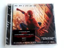 SpiderMan Music From And Inspired CD 2002 Brand New Sealed