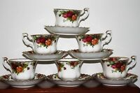 Royal Albert Old Country Roses 6 cups & saucers We ship to United States daily
