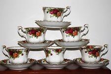 Royal Albert Old Country Roses 6 tazze e piattini spediamo a Stati Uniti ogni giorno