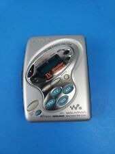 Sony Walkman Portable TV/Weather/FM/AM Radio Cassette Player WM-FX481 USED