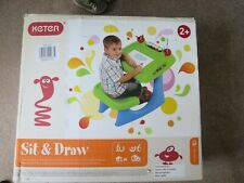 Keter Sit & Draw kids art and creativity child's desk