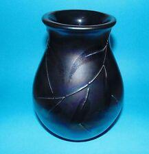 Poole pottery vase   'Leaf pattern'  1st Quality  (7366)