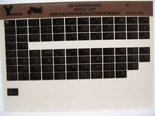 Yamaha FJ1200 1992 FJ1200AD FJ1200ADC Parts List Manual Microfiche n79