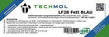 100g Tube Techmol LF2B Lithiumkomplexseifenfett BLAU Langzeitfett Wasserfest