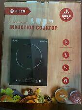 iSILER 1800 WATT PORTABLE INDUCTION COOKTOP MODEL CHK-CCA02 Open Box No Manual