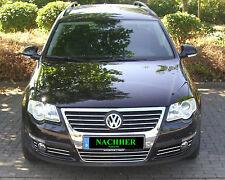 VW Passat 3C B6 auch Variant 3M Chromleisten Zierleiste für Kühlergrill Komplett
