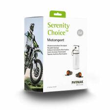 Phonak Serenity Choice™ Motorsport - Reusable Earplugs NRR 16 dB US Seller