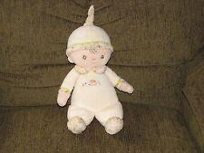 DOUGLAS CUDDLE TOYS STUFFED PLUSH SOFT CLOTH BABY DOLL CREAM HEDGEHOG MUSHROOM