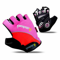 Mens Cycling Gloves Half Finger Bike Gel Silicone Weight Lifting Mitts Fitness