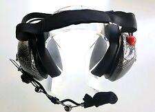RACING HEADSET BTH50CF CARBON FIBER W/GEL EAR SEALS ON SALE USA SELLER