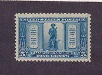 United States stamp #619, MNHOG, XF, 1923 - 1929,  SCV $45.00