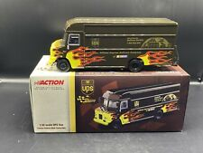 Action UPS Flame Van 1:32 Scale-Limited Edition Brown & Flame