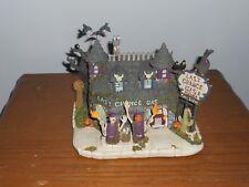 """hawthorne vllage munsters halloween village """"LAST CHANCE GAS"""""""