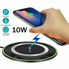 Charging Pad For Huawei P30 Mate20 Pro Samsung S10 10W Qi Fast Wireless Charger