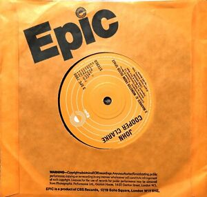 """JOHN COOPER CLARKE GIMMIX PLAY LOUD 1978 EPIC 7"""" SINGLE VINYL RECORD PLAY TESTED"""