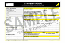 Gas Safe - Gas Inspection Record