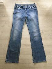 ESPRIT Denim Damen Stretch Jeans Hose W 30 L 34 blau