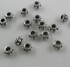 190Pcs Tibetan Silver exquisite Spacer Beads 5x3mm