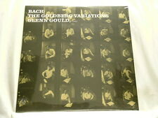 J.S. BACH Goldberg Variations GLENN GOULD Doxy 180 gram vinyl NEW SEALED UK LP