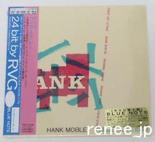 HANK MOBLEY / Hank JAPAN Mini LP BLUE NOTE CD w/OBI TOCJ-9185 NEW!!