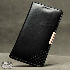 Genuine Leather Book Case Cover Pouch for Samsung SM-A800F/A800Y Galaxy A8 DUOS