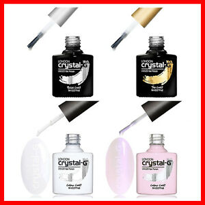 Crystal-G London - French Manicure Set UV LED Soak Off Gel Nail Polish Varnish